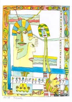 """Nr. 16 """"Fuerte"""" - DIN A4 Kunstdruck - limitierte Auflage - 50 Stück"""