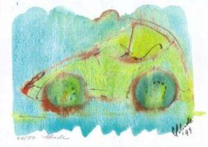 """Nr. 26 """"Auto"""" DIN A4 Kunstdruck - limitierte Auflage - 50 Stück"""