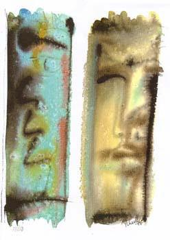 """Nr.6 """"Abriss"""" DIN A4 Kunstdruck - limitierte Auflage - 50 Stück"""