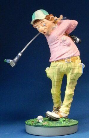 Golfspieler Skulptur - Profisti Figur Golfer