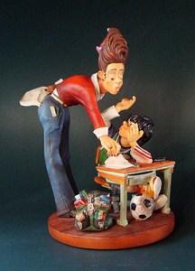 Parastone Skulptur Lehrerin - Profisti Figur Referendarin, Lehramtsanwärterin