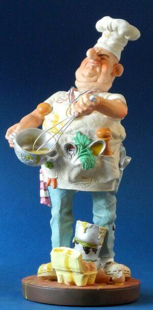 Koch Skulptur Profisti Figur Parastone Chef Koch - Küchenchef Le Cuisinier Cook