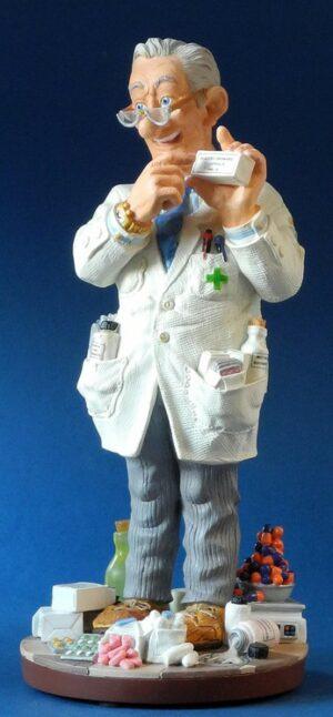 Profisti Skulptur Apotheker Figur - Parastone Pharmacist - Chemiker