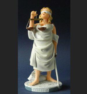 Justitia Skulptur - Lady Justice Parastone Profisti Comic Art Gerechtigkeit Figur
