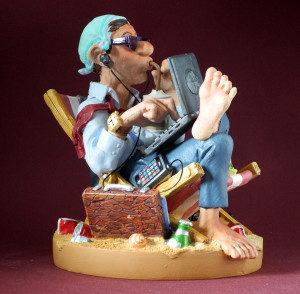 Parastone Skulpturen - Hobby, Beruf, Kunst und Comic